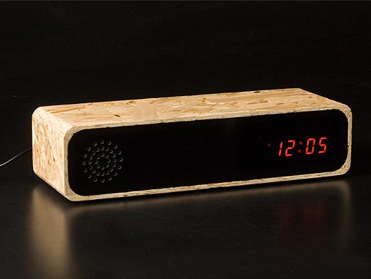 Furni Creations Knox Clock chipboard